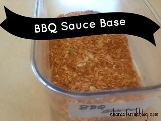 BBQ Sauce Base