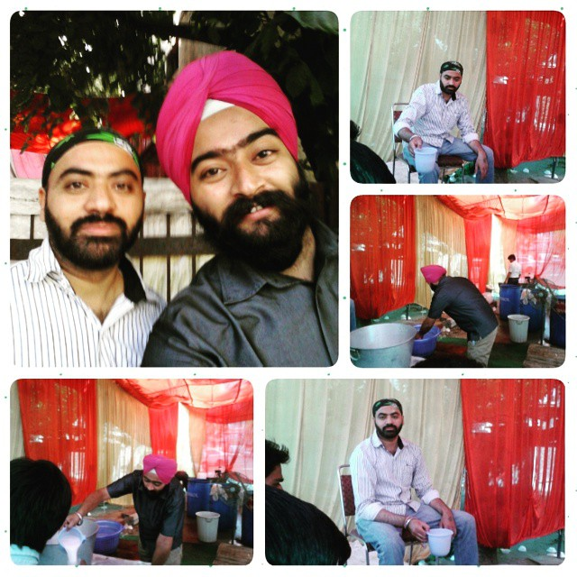 #Sewa #at #Chabil  #Saheedi #Gurpurab    #delhi #desi #bande  #with #harry #paaji  #PhotoGrid