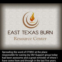 Everybody say E-T-B-R-C, say E-T-B-R-C, It's a Burn Thing ;-) As a burn resource center, we are here to put you at ease, to offer comfort, conquer all your fears, & encourage every burn survivors & their families that everything is going to be alright. Re