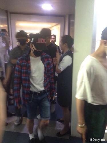 BIGBANG arrival Wuhan 2015-06-26 016