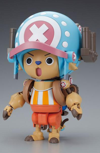 《海賊王》喬巴合體機器人 「毛皮強化超級1號」、「重力強化超級2號」組裝模型 好評續推!!