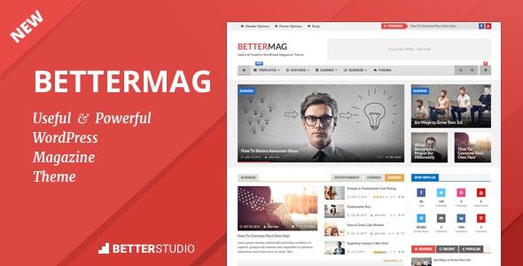 BetterMag v2.7.0 - News, Blog, Magazine WordPress Theme