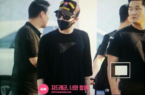 YB Dae GD departure Seoul to Bangkok 2015-07-10 002