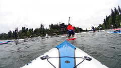 canoe(0.0), sailing(0.0), canoe sprint(0.0), boating(0.0), canoe slalom(0.0), canoeing(0.0), vehicle(1.0), sports(1.0), race(1.0), kayak(1.0), extreme sport(1.0), water sport(1.0), kayaking(1.0), watercraft(1.0), sea kayak(1.0), boat(1.0), paddle(1.0),