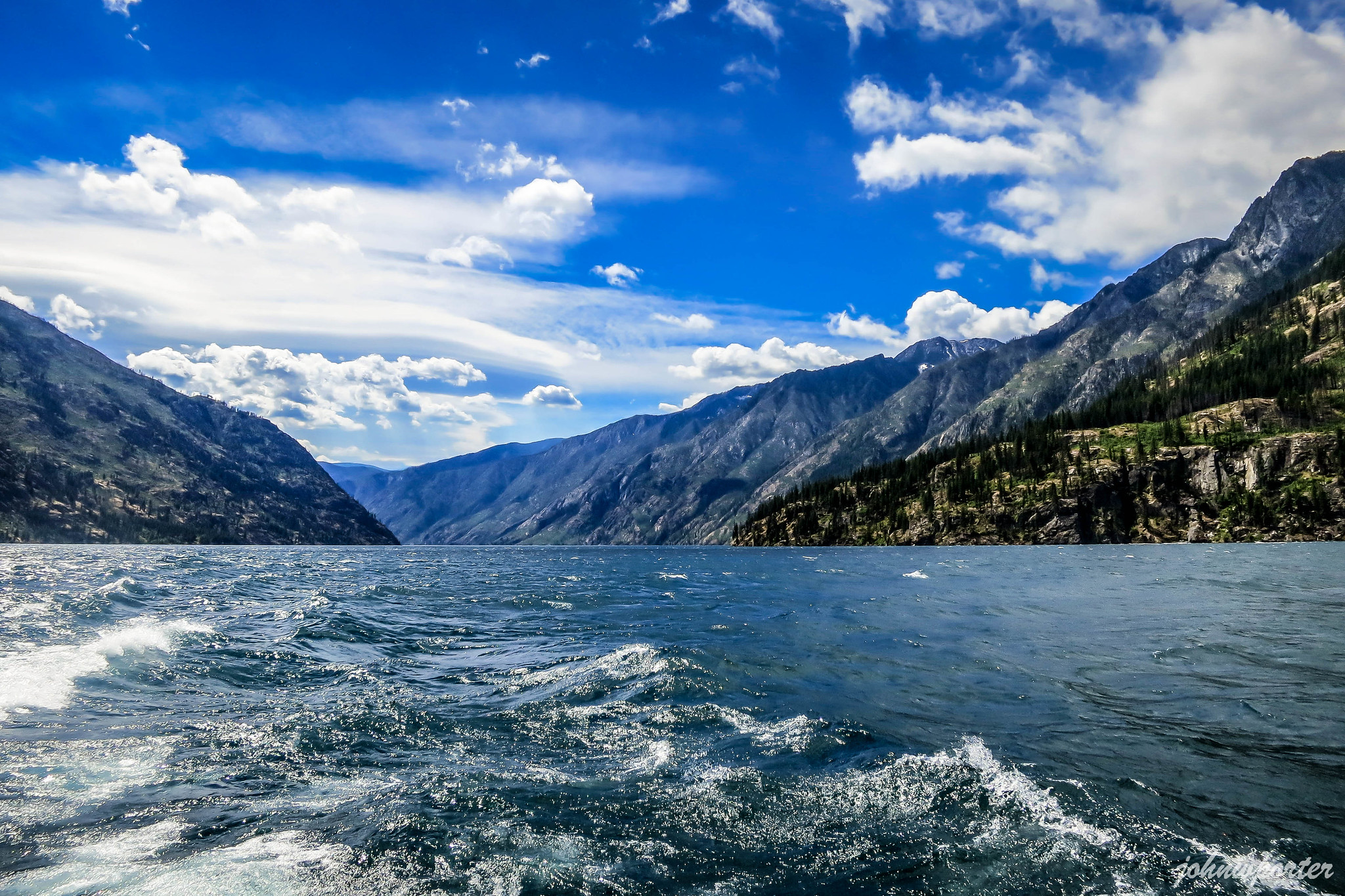 Lake Chelan upstream