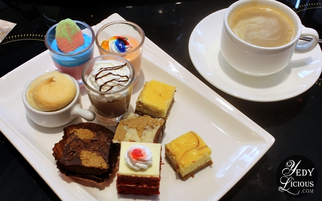 Dessert Plate at Four Seasons Buffet HotPot City SM MOA