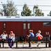 On the platform by Michael Erhardsson