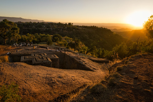 africa travel sunset church monument rock stone architecture underground religious ancient handmade sony religion landmark christian unesco fe ethiopia alpha spiritual pilgrimage a7 jesuschrist lalibela easternorthodox eastafrica worldwonder cliffside holysite ethiopianorthodox rockhewn samyang14mm