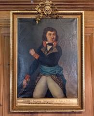 Portrait du général Joubert, Salon d'honneur, mairie & musée Chintreuil, Pont-de-Vaux (Ain, France)