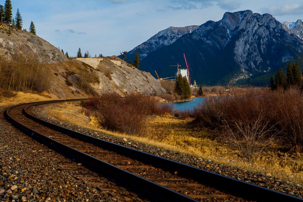Tracks to Exshaw