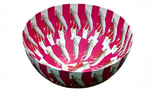 Wola Nani Paper Mache Bowl