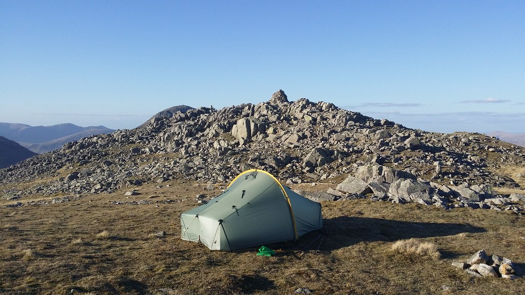 Camp on Lingmell #sh