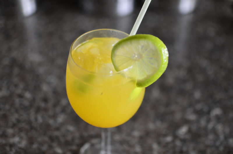 Mango - Coconut Water Shrub
