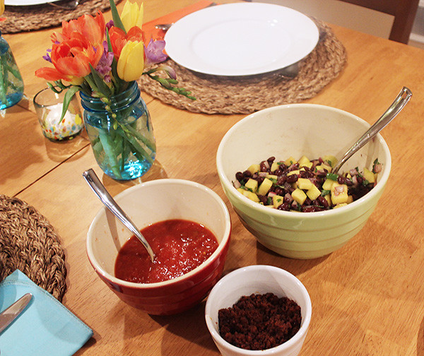 salsa-chorizo-black-beans