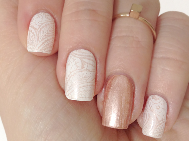 essie - penny talk stamping