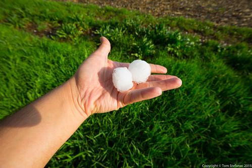 weather hail nebraska unitedstates hickman stormchase