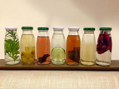花點心思,每天都有不同的清涼飲料。圖片來源:主婦聯盟基金會