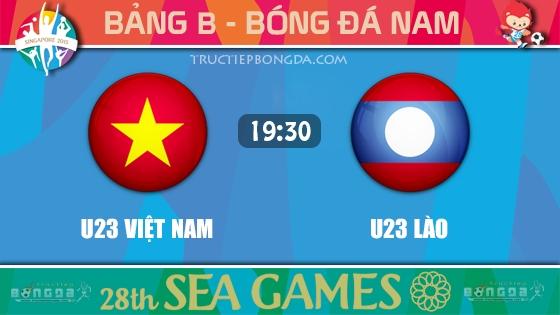 U23 Việt Nam vs U23 Lào