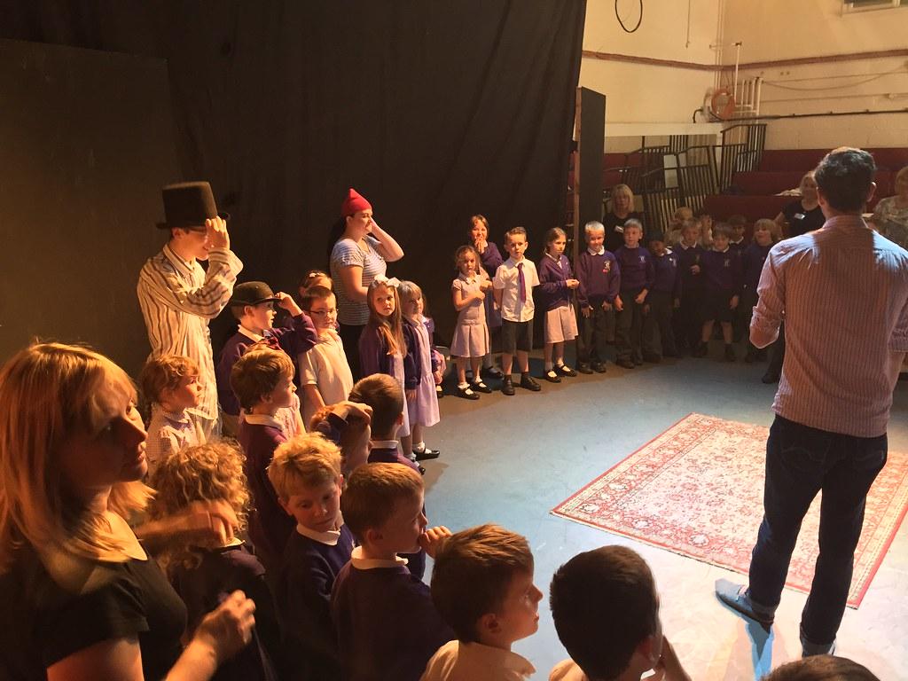 Peter Pan - pre show workshop