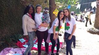 Arraiá da Esperança- trabalho voluntário com refugiados (ago/16)