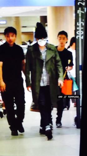 Big Bang - Incheon Airport - 26jul2015 - Toppuoo_ - 01