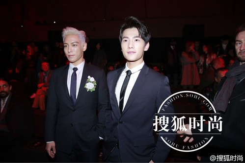 TOP - Dior Homme Fashion Show - 23jan2016 - Sohu Fashion - 03
