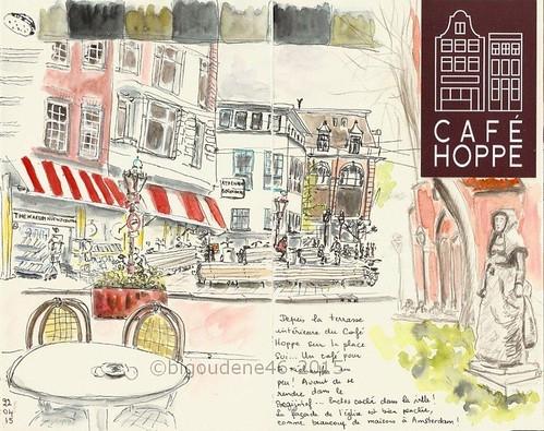 Amsterdam : cafe Hoppe
