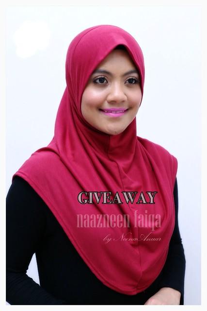 giveaway, naazneen faiqa