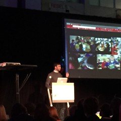 #gafesummit #ongafesummit final keynote by @mrpiercEy #fryed365