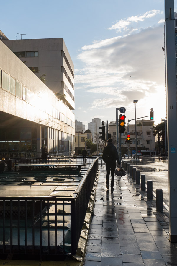 after the rain at Tel-Aviv