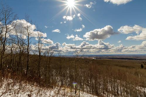 mountain snow canada tree forest grande spring peace country hill north alberta saskatoon mtn prairie beaverlodge