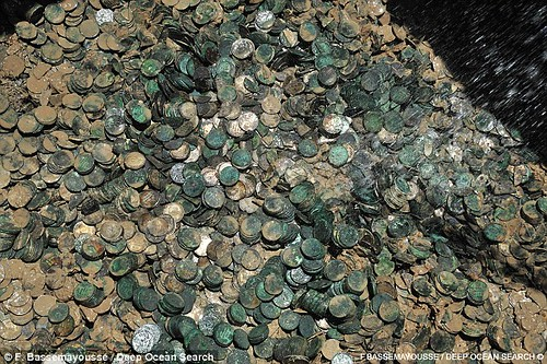 City of Cairo coin pile