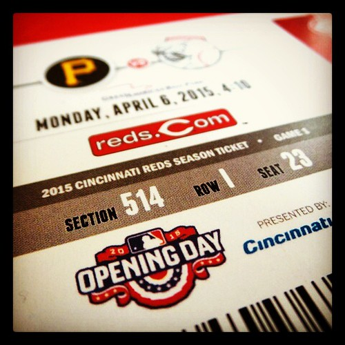 HAPPY OPENING DAY, CINCINNATI! See you at the ballpark! #BaseballIsBack!