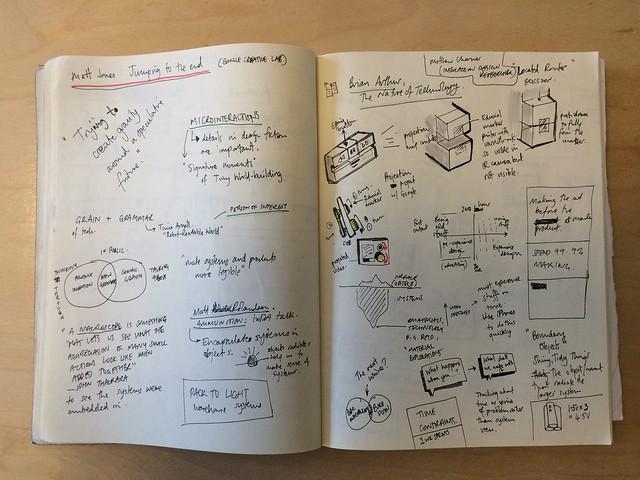 Notes: Matt Jones: Jumping to the End -- Practical Design Fiction