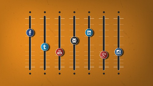 The Social Media Marketing Mix - Youtube, Facebook, Twitter, Linkedin, Instagram, Email
