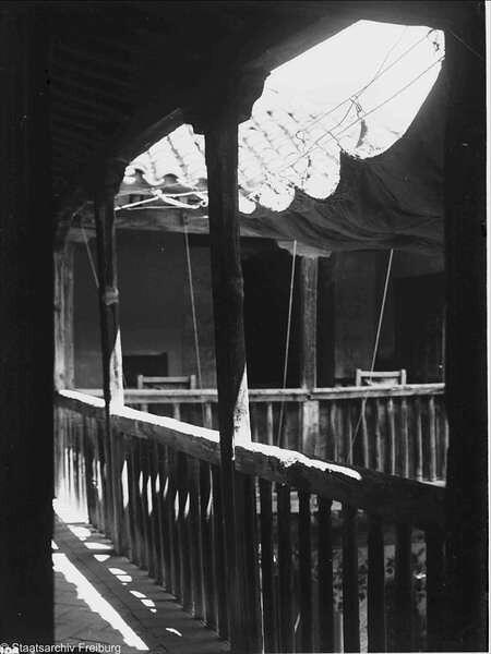 Casa del Greco  en Julio de 1932. Fotografía de Willy Pragher © Landesarchiv Baden-Württemberg, Abt. Staatsarchiv Freiburg