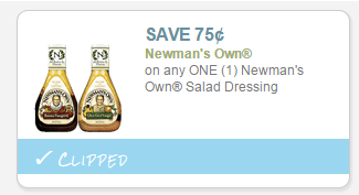 Coupon For Newman's Dressing ShopRite Deal