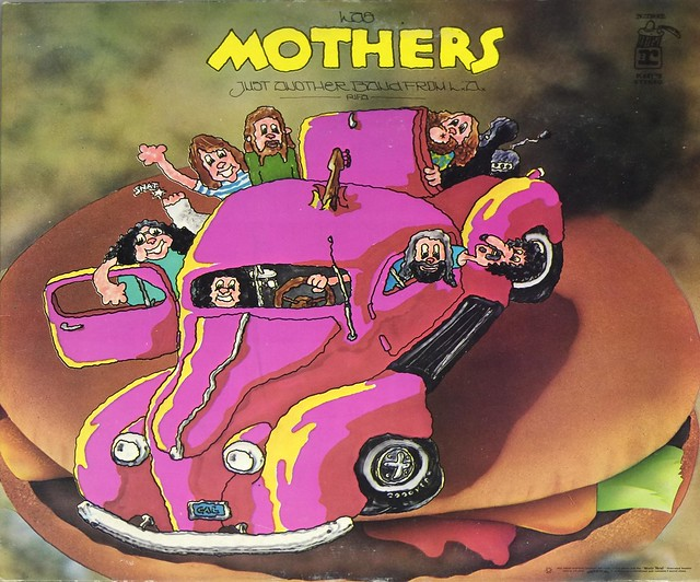 """FRANK ZAPPA'S MOTHERS JUST ANOTHER BAND FROM L.A. UK FOC 12"""" LP VINYL"""