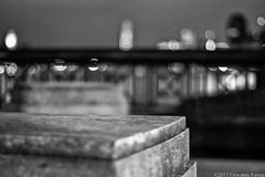 Blurry city