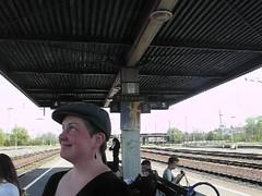 Mieze Medusa , Bahnhof Debrecen