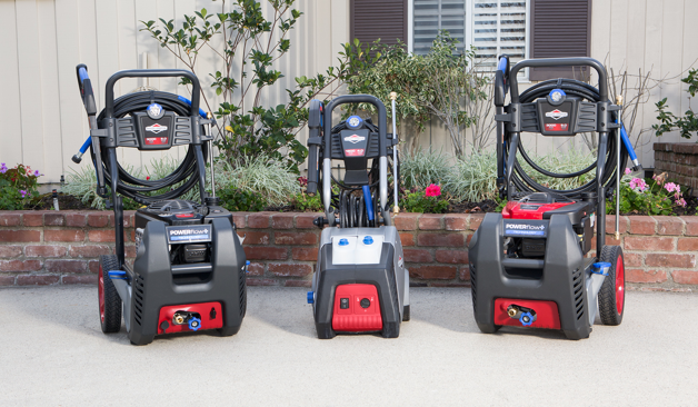 Briggs & Stratton's redesigned pressure washers use POWERflow+ Technology
