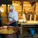 How Cheese Gets Made, Chalet Bio - Chateau d'Oex, Switzerland