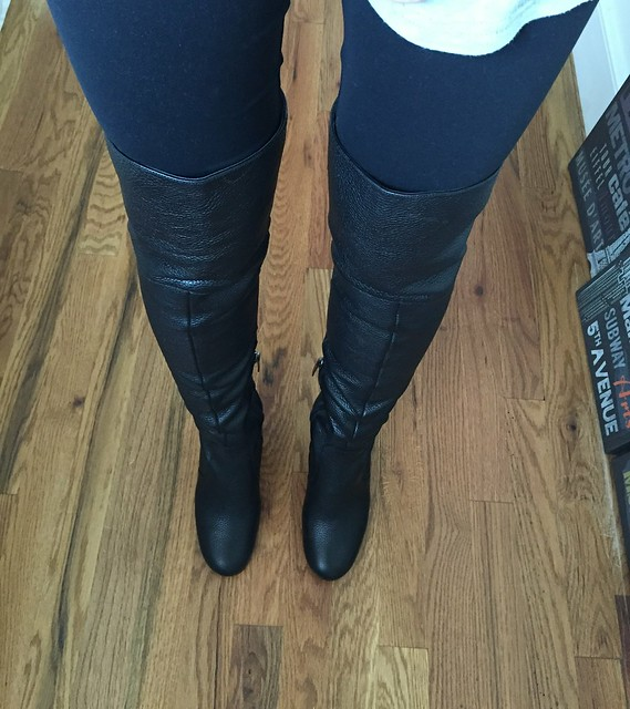 OTK Boot Review: Via Spiga \'Finlay\' (Nordstrom Anniversary Sale ...