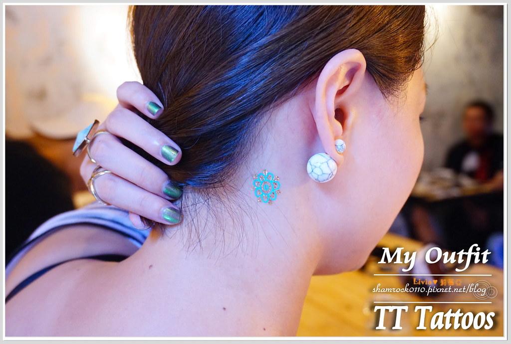 TT Tattoos金屬紋身貼 - 19