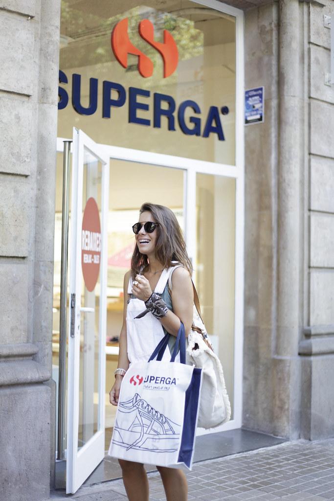 Tienda Superga en Barcelona.