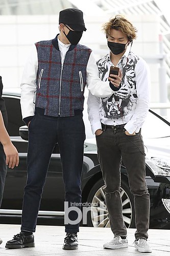 BIGBANG GDTOPDAE departure Seoul to Hangzhou Press 2015-08-25 020