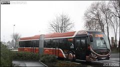 Iveco Bus Créalis 18 GNC - Setram (Société d'Économie Mixte des TRansports en commun de l'Agglomération Mancelle) n°307 - Photo of Souligné-Flacé