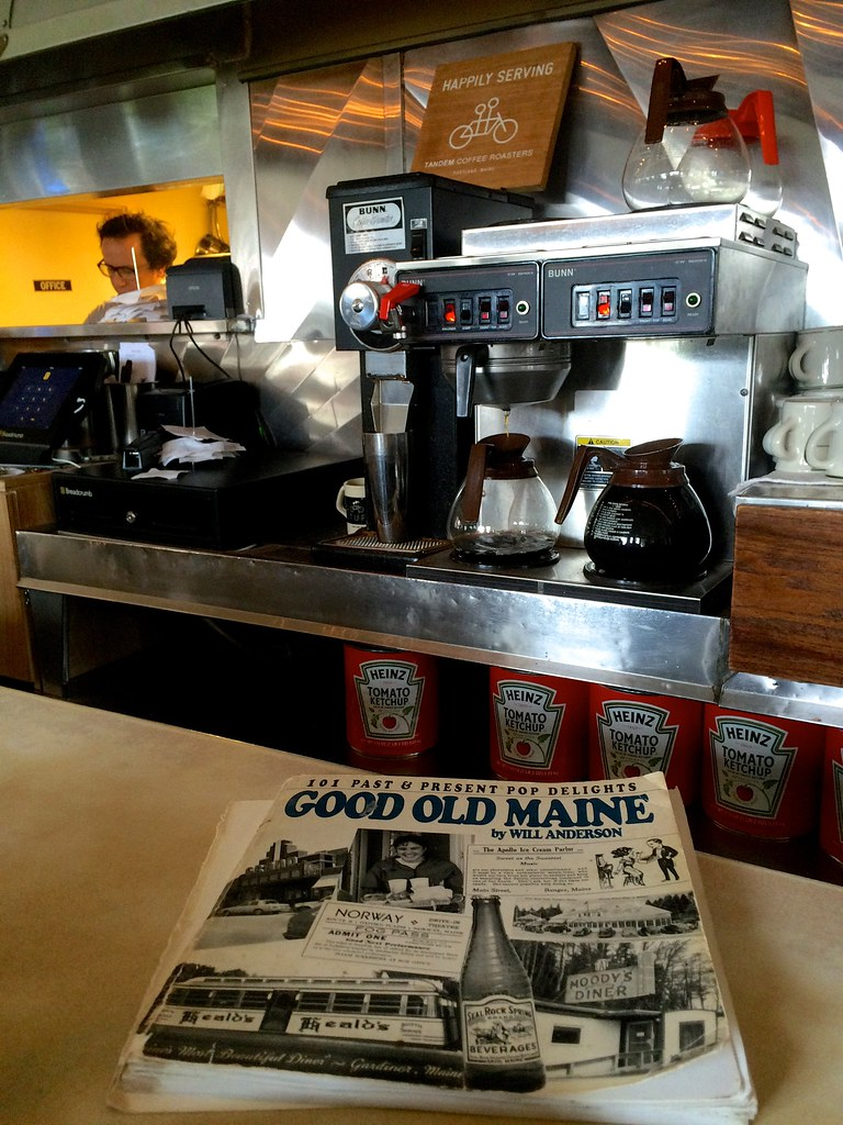 Palace Diner Biddeford, Maine - Retro Roadmap