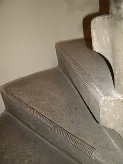 St Marien Friedenau - Treppe zur Empore