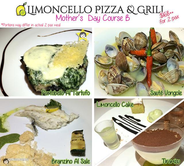 Limoncello Menu Course B